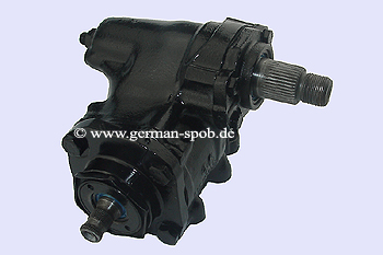 POWER STEERING GEAR BOX - W123 | REPAIR SERVICE  Mercedes W123 Limousine, C123 Coupe, S123 T-Modell