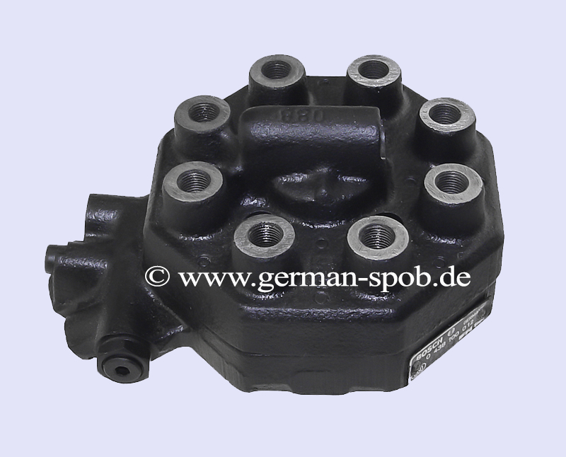 0438100012 Fuel Distributor  Regenerated Condition Mercedes Benz Sl  C107 450 Slc Coupe   (Bosch: 0438100012, 0 438 100 012, 0-438-100-012)