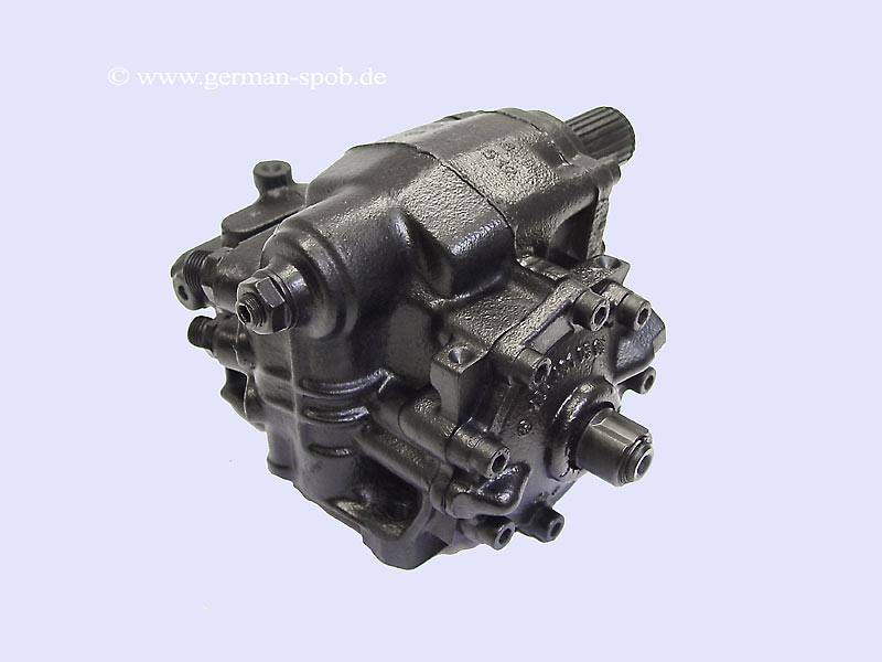 Power Steering Gear Box - Slk R170 Regenerated Mercedes-Benz 1704601100 1704601100 A1704601100
