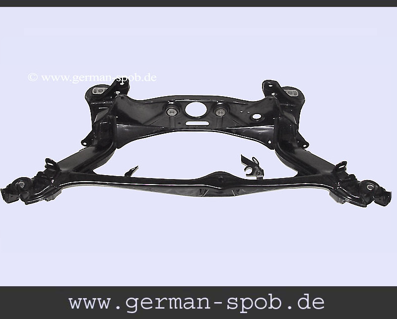 Rear Axle Base | Regenerated, Powder Coated, W124 Mercedes-Benz: A1243507508