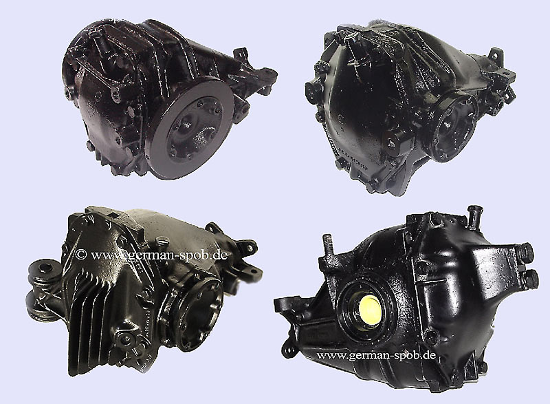 Differential Rear Transmission - 3,92 - Regenerated Mercedes-Benz 1113500003 1113500003
