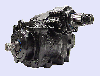 POWER STEERING GEAR BOX - W123 C126 RHD REGENERATED  Mercedes COUPE C123, Kombi S123, Stufenheck W123