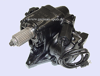POWER STEERING GEAR BOX - W140 C140 LEFT HAND DRIVE REGENERATED  Mercedes , 