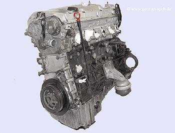 ENGINE SHORTBLOCK, E 320 24V, M104 995