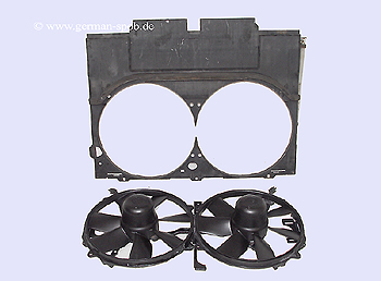 Blower Motor - Fan A/c Condenser, R129, W140 Mercedes-Benz: A0015000593
