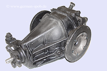 DIFFERENTIAL REAR TRANSMISSION - 3,23 NO ABS | REPAIR SERVICE  Mercedes W201 190E 2.0