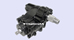 POWER STEERING GEAR BOX - SL R107 C107 V8 REGENERATED
